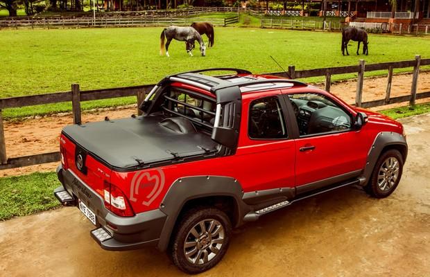 Edição especial Mangalarga Marchador para Fiat Strada Trekking e Adventure (Foto: Divulgação)
