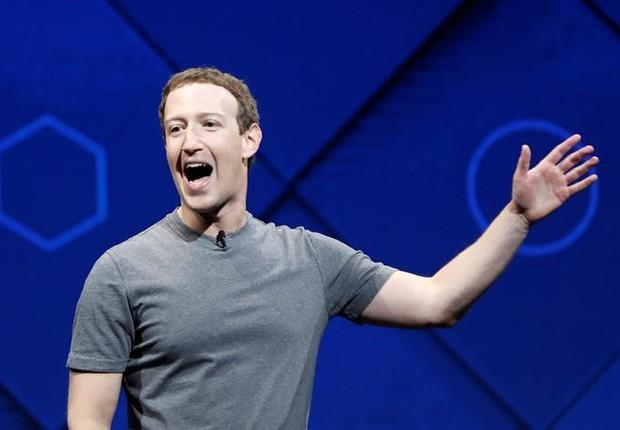 Mark Zuckerberg fala em conferência anual com desenvolvedores do Facebook em San Jose, na Califórnia (Foto: Stephen Lam/Reuters)