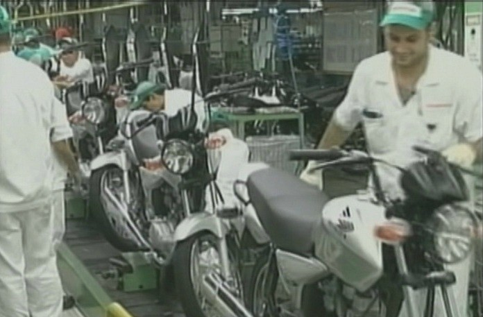 Em novembro de 2011, setor industrial do estado registrou queda de 3,7% (Foto: Bom dia Amazônia)