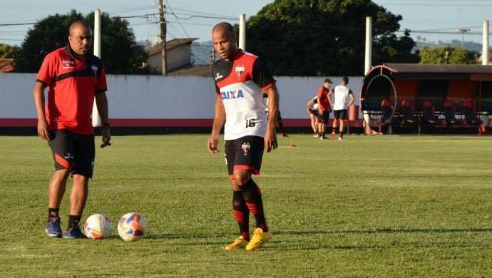Anderson Pedra - Atlético-GO (Foto: Divulgação / Atlético Clube Goianiense)