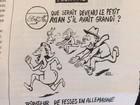 Charge do Charlie Hebdo sobre garoto sírio afogado causa revolta