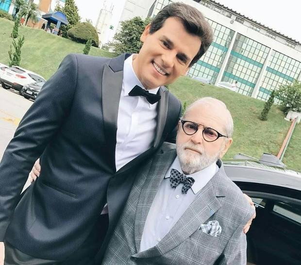 Celso Portiolli e Jô Soares (Foto: Reprodução/Instagram)