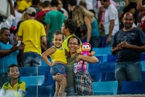 Torcida na Arena Pantanal (Foto: Chico Valdiner/Secom/MT)