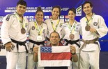 AM fatura cinco medalhas e faz história no Brasileiro Sênior de Judô (Divulgação)