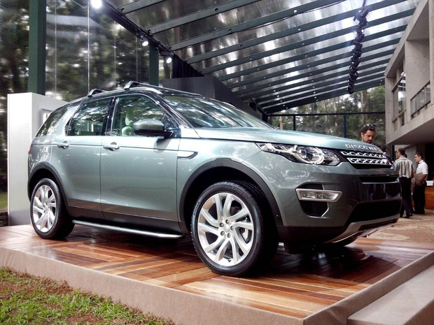 Land Rover Discovery Sport (Foto: Peter Fussy/G1)