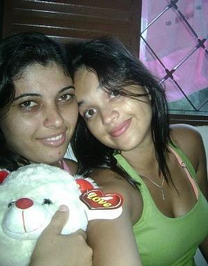 Ediana e Kamila já podem casar no Espírito Santo (Foto: Arquivo Pessoal / Ediana Calixto)