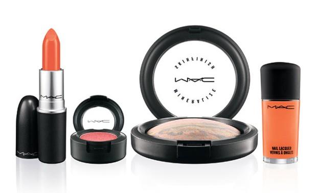 Hayley Williams para MAC 2013 Makeup Collection (Foto: Divulgação)
