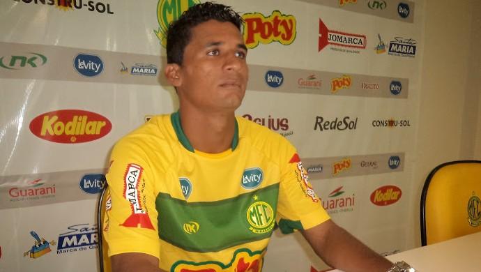 Fio, atacante do Mirassol, ex-Penapolense (Foto: Vinicius de Paula / Ag. Mirassol FC)