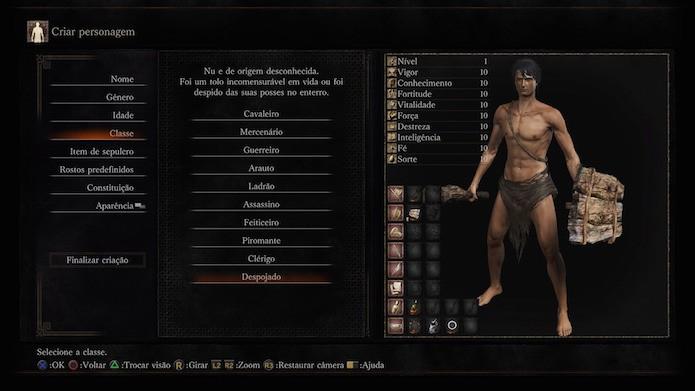 Dark Souls 3: despojado (Foto: Reprodução/Victor Teixeira)
