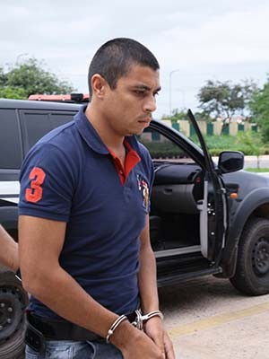 Assassino confesso do jornalista Décio Sá, Jhonathan de Sousa Silva (Foto: Biné Morais /O Estado)