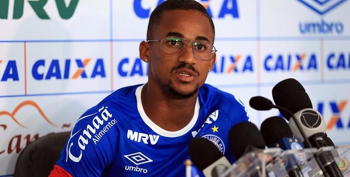 Eduardo; Bahia (Foto: Felipe Oliveira/EC Bahia/Divulgação)