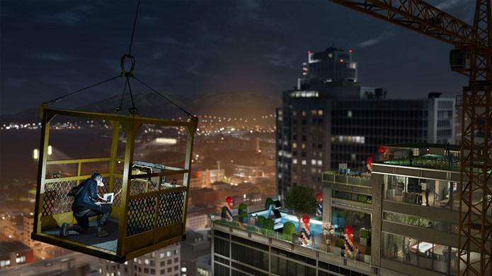 Use as habilidades de Marcus para invadir sistemas e roubar informações (Foto: Divulgação/Ubisoft)