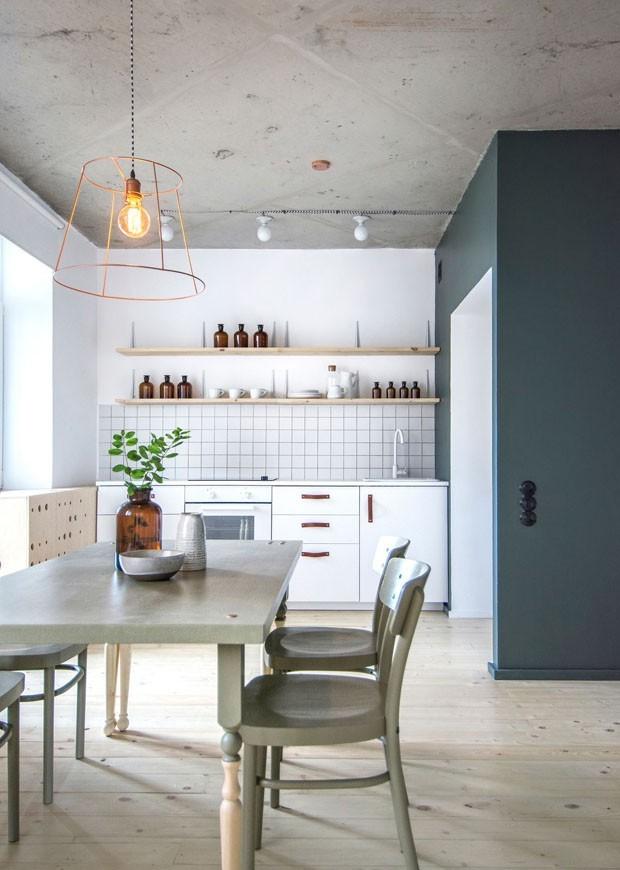 Décor do dia: cozinha prática e minimalista (Foto: Divulgação)