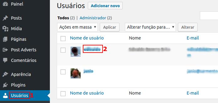 Acessando o perfil de um usuário (Foto: Reprodução/Edivaldo Brito)