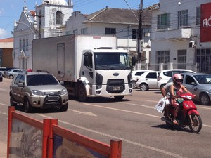Encontro prevê plano de mobilidade urbana para Macapá (Foto: John Pacheco/G1)