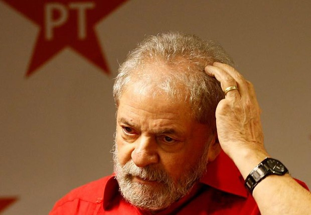 O ex-presidente Luiz Inácio Lula da Silva durante congresso do Partido dos Trabalhadores (Foto: Leonardo Benassatto/Arquivo/Reuters)