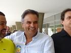 Senador Aécio Neves (PSDB) vota em Belo Horizonte