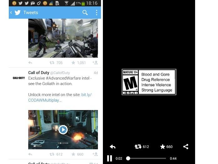 Twitter está testando novo reprodutor de vídeo (Foto: Reprodução/Twitter)