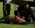 Gabriel Marques sente dores no braço direito e vira dúvida no Paraná