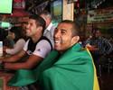 Fotos: lutadores de MMA torcem pela Seleção Brasileira