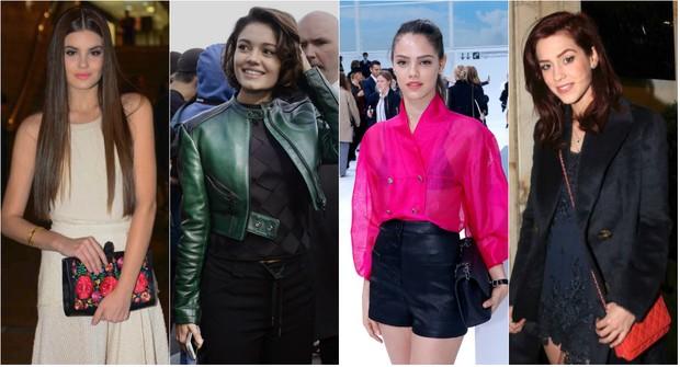 Camila Queiroz, Sophie Charlotte, Laura Neiva e Sophia Abrahão são algumas das famosas confirmadas na 40º edição do São Paulo Fashion Week, no prédio da Bienal (Foto: Ag. News)