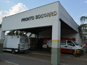 7d7ccc8a096 Estudante está internado no Hospital e Pronto Socorro João Paulo II (Foto  Matheus  Henrique Vítima foi encaminhada ...