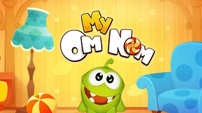 Tamagotchi: My Om Nom aproveita o sucesso de Cut the Rope (Foto: Reprodução/Google Play)