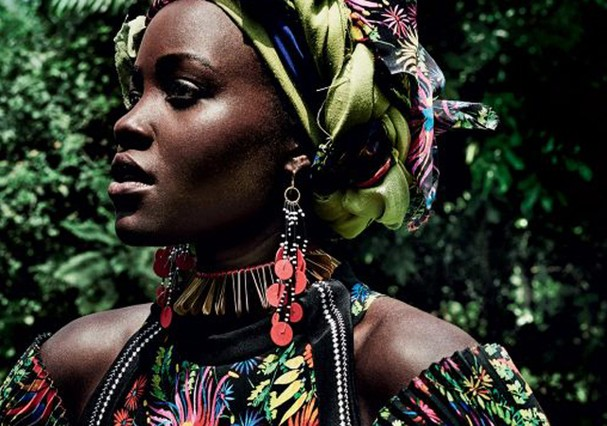 Lupita Nyong'o (Foto: Reprodução/Vogue)