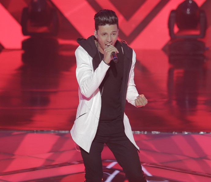 Rafah cantou 'Treat you Better' (Foto: Artur Meninea/Gshow)