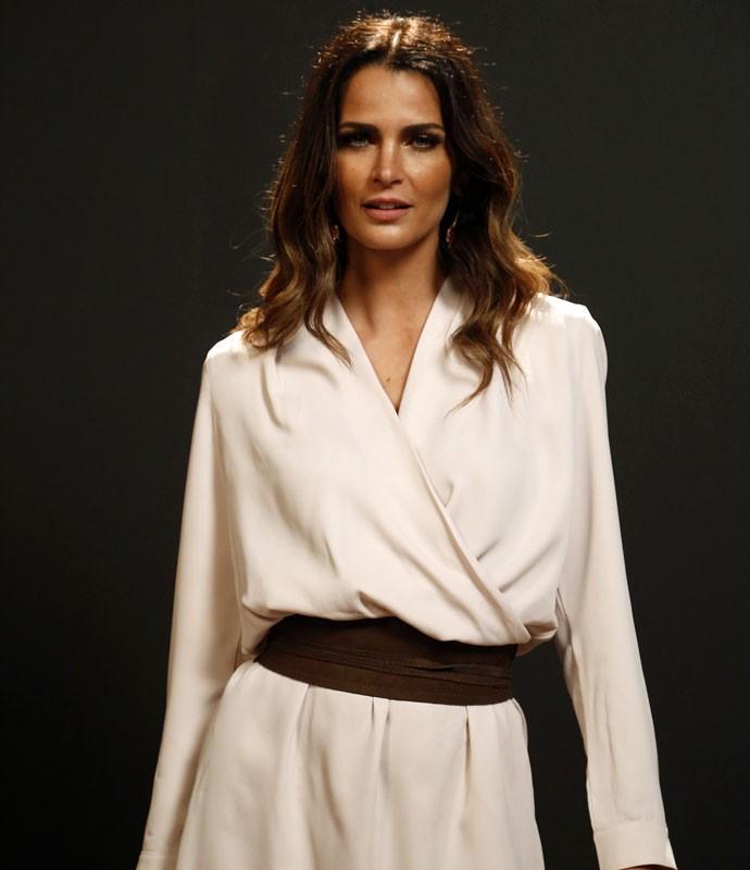 Fernanda Motta dá entrevista para o Gshow. Ela será Daniele em 'Totalmente Demais' (Foto: Raphael Dias/Gshow)