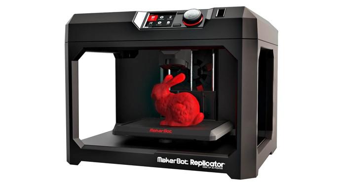 A nova versão da Replicator é de fácil utilização (Foto: Divulgação/Makerbot)