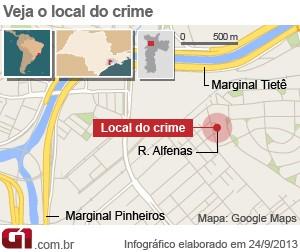 Mapa caso Friboi (Foto: Arte/G1)