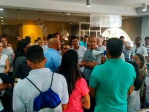 Projeto aumentou salário de vereadores em 30% (Foto: Taísa Moura/TV Santa Cruz)