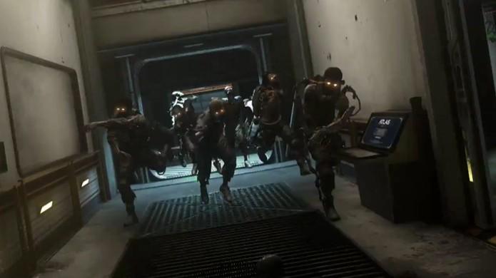 Modo Exo Zombies trará zumbis de volta para Call of Duty: Advanced Warfare, mais mortais do que nunca (Foto: Reprodução: YouTube)