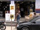 Assaltantes roubam loja pela 5ª vez em 15 dias no bairro da Liberdade