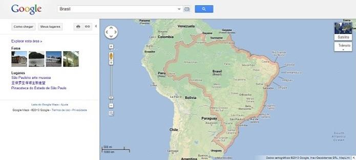 Veja como usar a versão antiga do Google Maps (Foto: Reprodução Google)