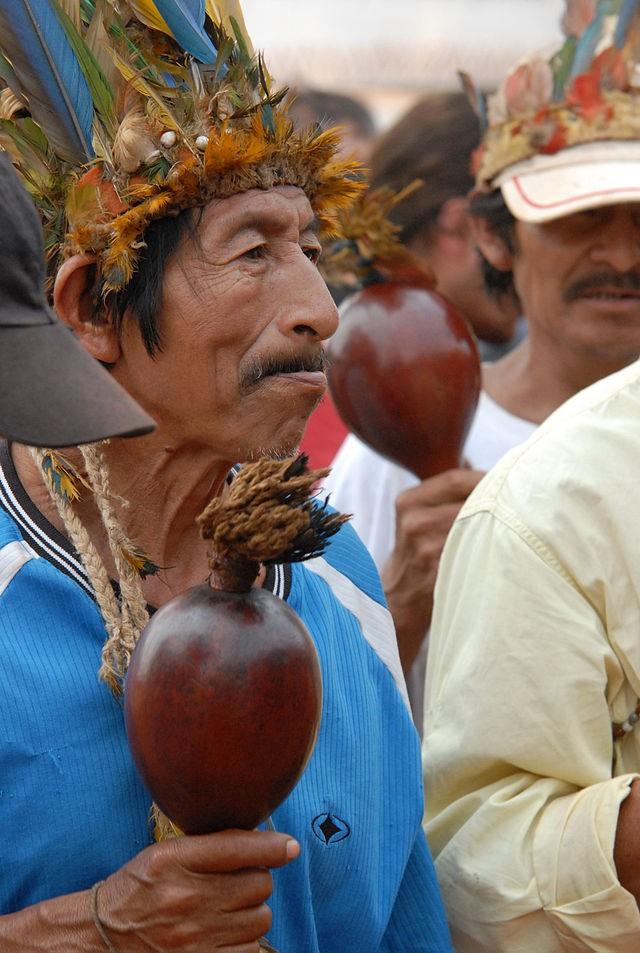 Xamã Guarani (Foto: wikimedia commons)