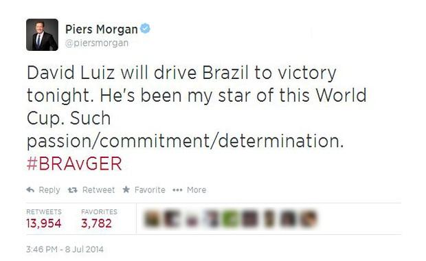 Jornalista britânico aposta em vitória do Brasil na Copa e doa R$ 19 mil