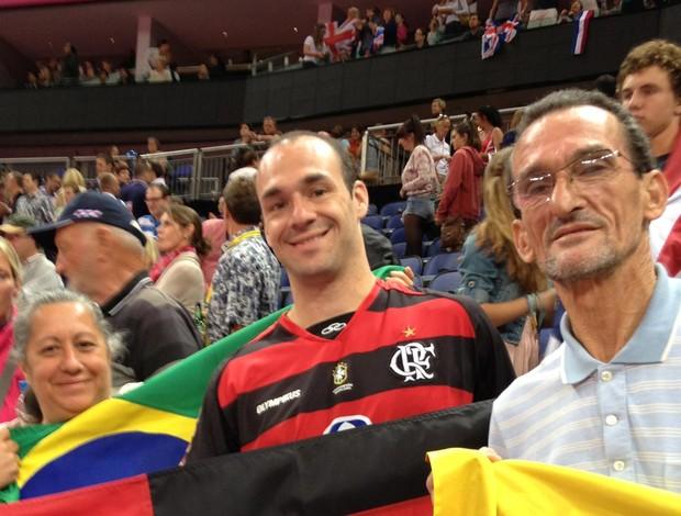 família diego hypolito londres 2012 (Foto: Bianca Rothier / TV Globo)