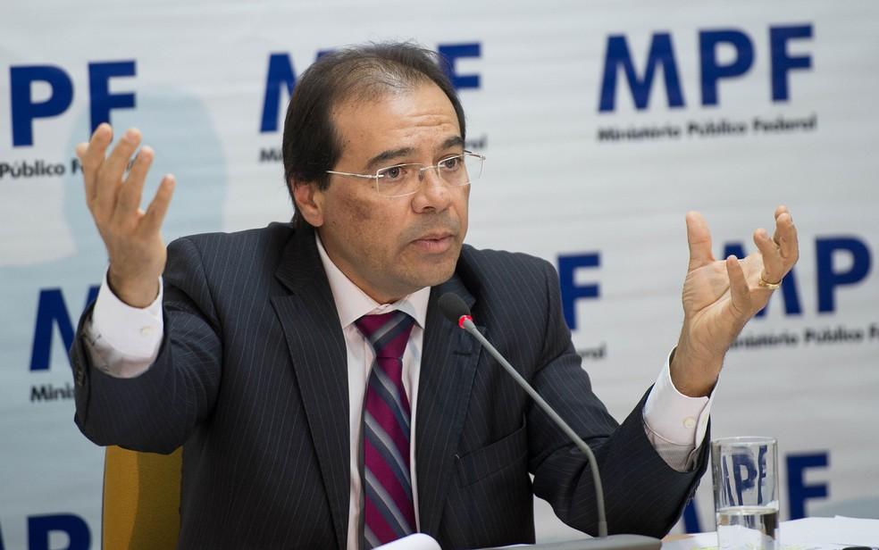 O vice-procurador-geral eleitoral, Nicolao Dino, candidato mais votado para integrar lista tríplice (Foto: Marcelo Camargo/Agência Brasil)