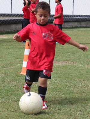 Wilsinho - Escolinha do Flamengo (Foto: Josiel Martins)