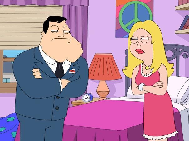 Stan e Francine discordam sobre a maneira de educar os filhos  (Foto: Divulgação / Twentieth Century Fox)