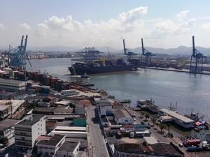 porto de itajaí (Foto: Luiz Carlos Souza/Divulgação)