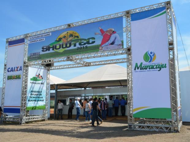 Showtec foi aberto na manhã desta quarta-feira e deve receber 12 mil visitantes até sexta (Foto: Anderson Viegas/Agrodebate)