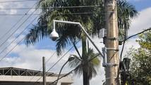 Câmeras são instaladas em Araxá (PMA/Divulgação)