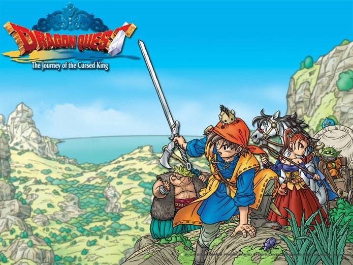 Dragon Quest é uma série de RPG que conta com a participação do criador de Dragon Ball Z (Foto: Divulgação)