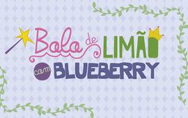 Receita: Bolo de Limão com Blueberry