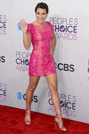 Enquete People's Choice Awards - Lea Michele (Foto: Agência Getty Images)