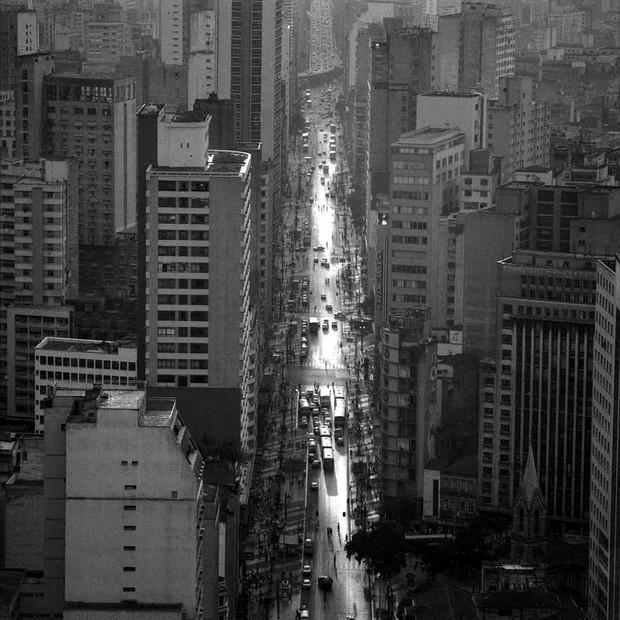 A fotografia da Avenida São João, de Cristiano Mascaro (Foto: Reprodução)