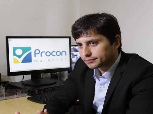 Diretor do Procon-MA Duarte Júnior  (Foto: Biaman Prado / O Estado)